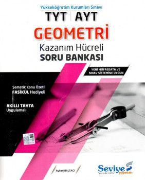 Seviye Yayınlar TYT AYT Geometri Kazanım Hücreli Soru Bankası