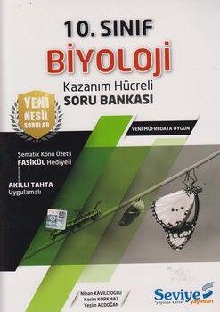 Seviye Yayınları 10. Sınıf Biyoloji Kazanım Hücreli Soru Bankası