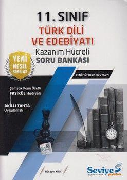 Seviye Yayınları 11. Sınıf Türk Dili ve Edebiyatı Kazanım Hücreli Soru Bankası
