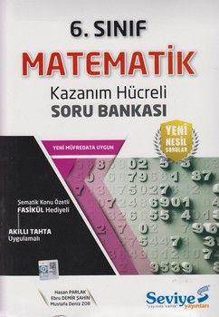 Seviye Yayınları 6. Sınıf Matematik Kazanım Hücreli Soru Bankası