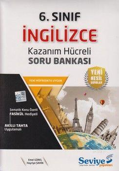 Seviye Yayınları 6. Sınıf İngilizce Kazanım Hücreli Soru Bankası