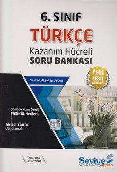 Seviye Yayınları 6. Sınıf Türkçe Kazanım Hücreli Soru Bankası
