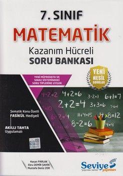 Seviye Yayınları 7. Sınıf Matematik Kazanım Hücreli Soru Bankası