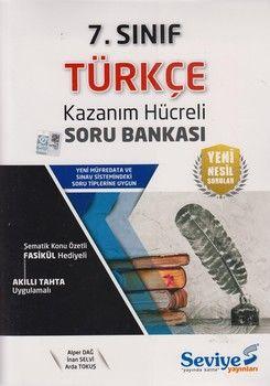 Seviye Yayınları 7. Sınıf Türkçe Kazanım Hücreli Soru Bankası