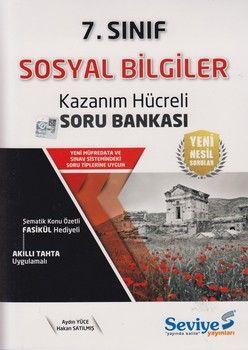 Seviye Yayınları 7. Sınıf Sosyal Bilgiler Kazanım Hücreli Soru Bankası