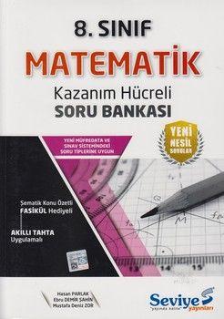 Seviye Yayınları 8. Sınıf Matematik Kazanım Hücreli Soru Bankası