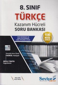 Seviye Yayınları 8. Sınıf Türkçe Kazanım Hücreli Soru Bankası