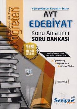 Seviye Yayınları AYT Edebiyat Öğreten Konu Anlatımlı Soru Bankası