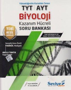 Seviye Yayınları TYT AYT Biyoloji Kazanım Hücreli Soru Bankası