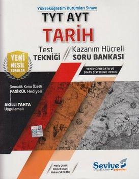 Seviye Yayınları TYT AYT Tarih Kazanım Hücreli Soru Bankası