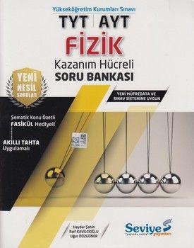 Seviye Yayınları TYT AYT Fizik Kazanım Hücreli Soru Bankası