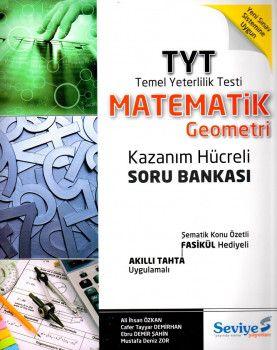 Seviye Yayınları YKS 1. Oturum TYT Matematik Geometri Kazanım Hücreli Soru Bankası