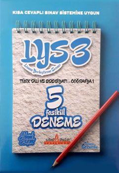 Sibel Aydın LYS 3 Türk Dili ve Edebiyatı Coğrafya 1 Tamamı Çözümlü 5 Fasikül Deneme