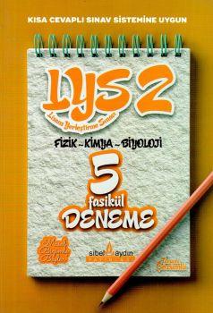Sibel Aydın Yayınları LYS 2 Fizik Kimya Biyoloji Fasikül 5 Deneme