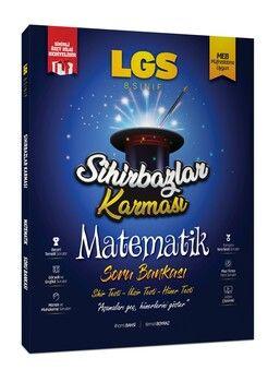 Sihirbazlar Karması 8. Sınıf LGS Matematik Soru Bankası Sihirli Özet Hediyeli