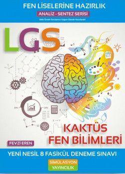 Simülasyon Yayıncılık LGS Kaktüs Fen Bilimleri 8 Fasikül Deneme Sınavı