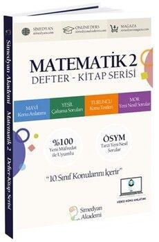 Simedyan Akademi Matematik 2 Defter Kitap Serisi