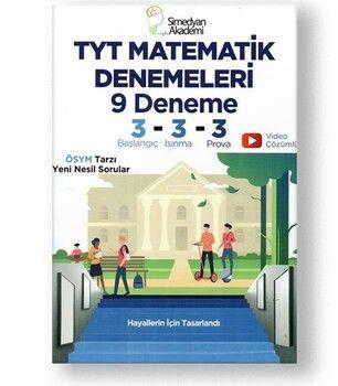 Simedyan Akademi TYT Matematik 9 Denemeleri