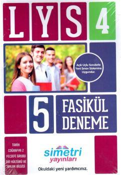Simetri Yayınları LYS 4 Fasikül 5 Deneme