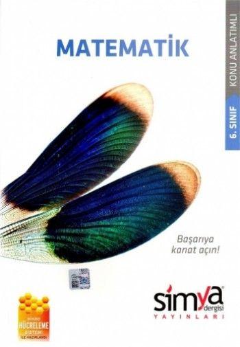 Simya 6. Sınıf Matematik Konu Anlatımlı Kanat Serisi