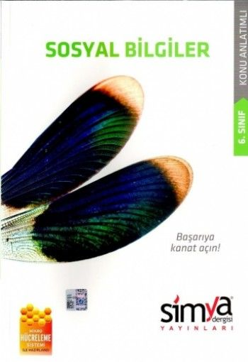 Simya 6. Sınıf Sosyal Bilgiler Konu Anlatımlı Kanat Serisi