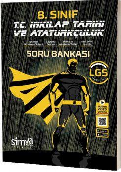 Simya Yayınları 8. Sınıf LGS T.C. İnkılap Tarihi ve Atatürkçülük Tamamı Video Çözümlü Soru Bankası
