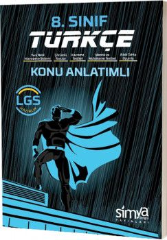Simya Yayınları 8. Sınıf LGS Türkçe Konu Anlatımlı