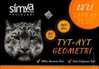 Simya Yayınları TYT AYT Geometri Seti