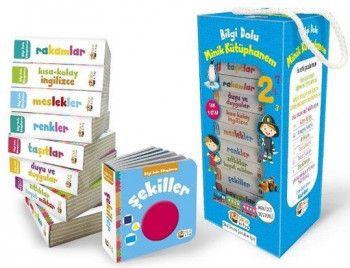 Sincap Kitap Okul Öncesi İçin Bilgi Dolu Minik Kütüphanem Mavi kutu