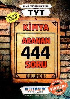 Sistematik Yayınları TYT Kimya 444 Aranan Soru