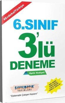 Sistematik Yayınları 6. Sınıf 3 lü Deneme