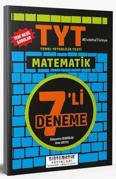 Sistematik Yayınları TYT Matematik 7 li Deneme