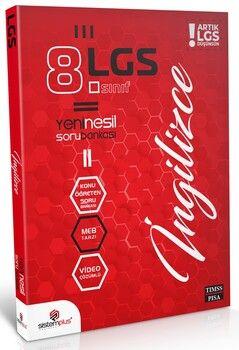 Sistemplus Yayınları 8. Sınıf LGS İngilizce Video Konu Anlatım ve Çözümlü Soru Bankası