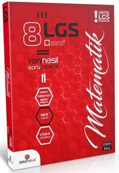 Sistemplus Yayınları 8. Sınıf LGS Matematik Video Konu Anlatım ve Çözümlü Soru Bankası