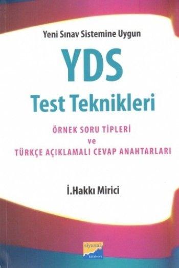 Siyasal Kitabevi YDS Test Teknikleri