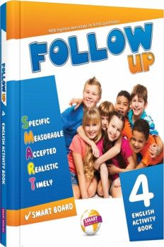 Smart English 4. Sınıf Follow Up English Activity Book