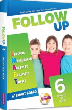 Smart English 6. Sınıf Follow Up English Test Book