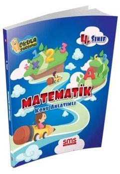 SMS Yayınları 4. Sınıf Matematik Konu Anlatımlı