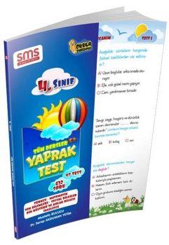 SMS Yayınları 4. Sınıf Tüm Dersler Yaprak Test