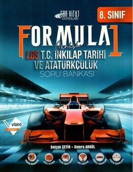 Son Viraj Yayınları 8. Sınıf LGS T. C. İnkılap Tarihi ve Atatürkçülük Formula 1 Soru Bankası