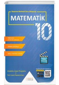 Sonuç Derece Yayınları 10. Sınıf Matematik Kazanım Merkezli Soru Bankası Seti
