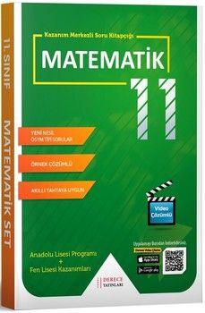 Sonuç Derece Yayınları 11. Sınıf Matematik Modüler Set