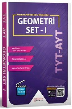 Sonuç Derece Yayınları TYT AYT Geometri Modüler Set I