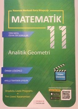 Sonuç Derece Yayınları 11. Sınıf Analitik Geometri