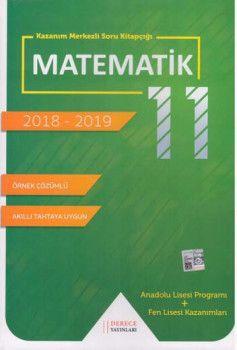 Sonuç Derece Yayınları 11. Sınıf Matematik Kazanım Merkezli Soru Bankası Seti