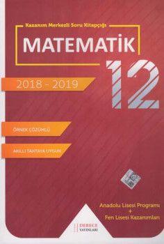 Sonuç Derece Yayınları 12. Sınıf Matematik Kazanım Merkezli Soru Bankası Seti