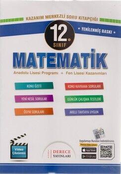 Sonuç Derece Yayınları 12. Sınıf Matematik Kazanım Merkezli Soru Kitapçığı