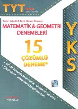 Sonuç Derece YKS 1. Oturum TYT ÖSYM Soru Tarzında Matematik Geometri Çözümlü 15 Deneme