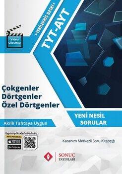 Sonuç Yayınları TYT AYT Çokgenler Dörtgenler Özel Dörtgenler