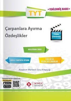 Sonuç Yayınları TYT Çarpanlara Ayırma Diziler